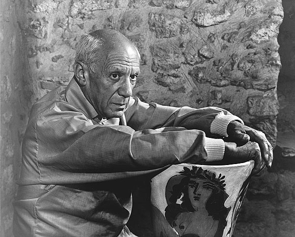 picasso by karsh